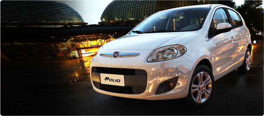 Fiat Palio 2013 en México color blanco de frente