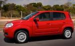 Fiat Uno 2013 en México rojo