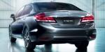 Honda Civic Sedán 2013 en México cambios parte trasera