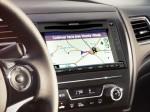 Honda Civic Sedán 2013 en México pantalla de navegación