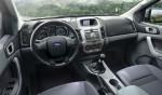 Ford Ranger 2013 renovada en México Interior consola pantalla a color