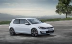 Volkswagen Nuevo Golf GTI 7 blanco de perfil y frente
