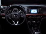 Mazda 6 2015 interior pantalla touch