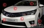 El nuevo Toyota Corolla 2014 fotos espía