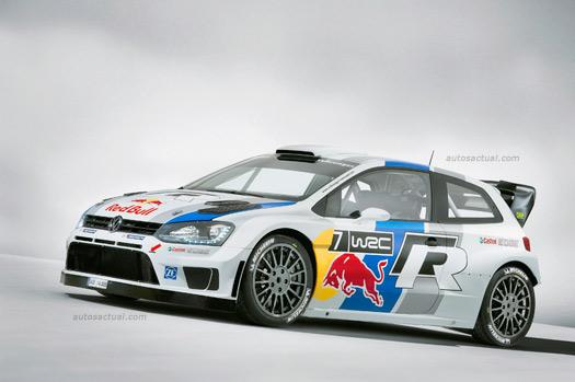 Volkswagen Polo R WRC en Rally León Guanajuato México