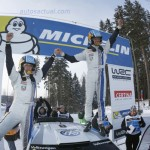 Volkswagen y Sebastien Ogier ganan el Rally de Suecia con un Polo R WRC
