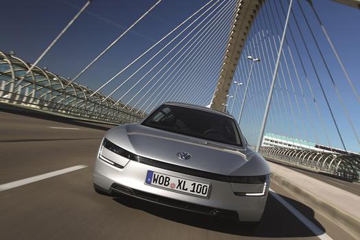 Volkswagen XL1 híbrido de 1 Litro en consumo