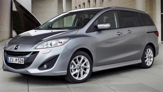 Mazda 5 renovado 2013