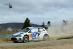 El Volkswagen Polo R WRC ganan en Rally de México corriendo en tierra