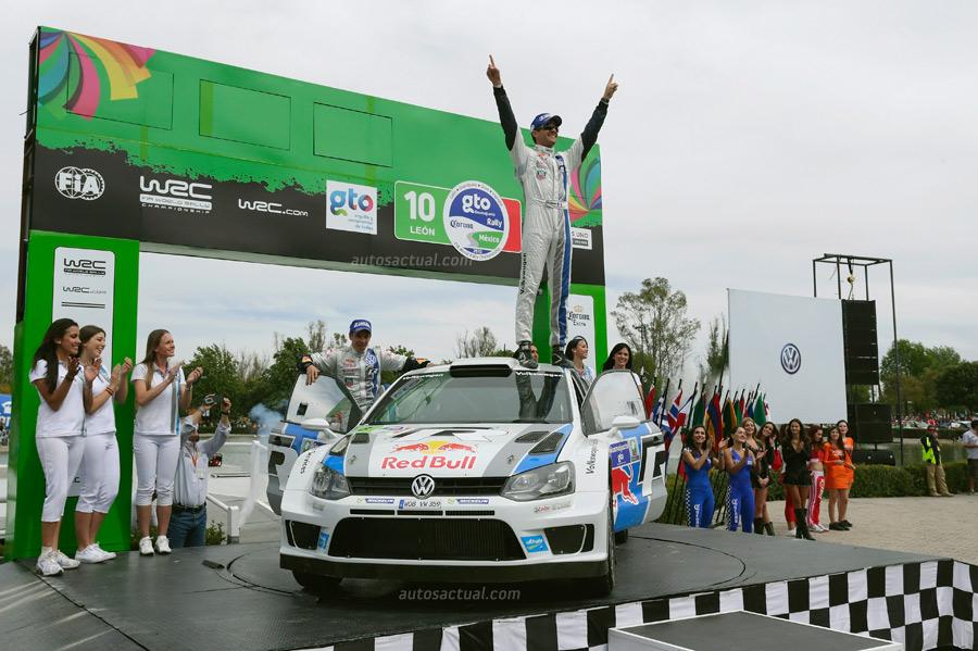 Sébastien Ogier y el Volkswagen Polo R WRC ganan en Rally de México