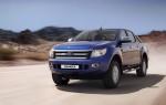 Ford Ranger 2013 para México Azul frente