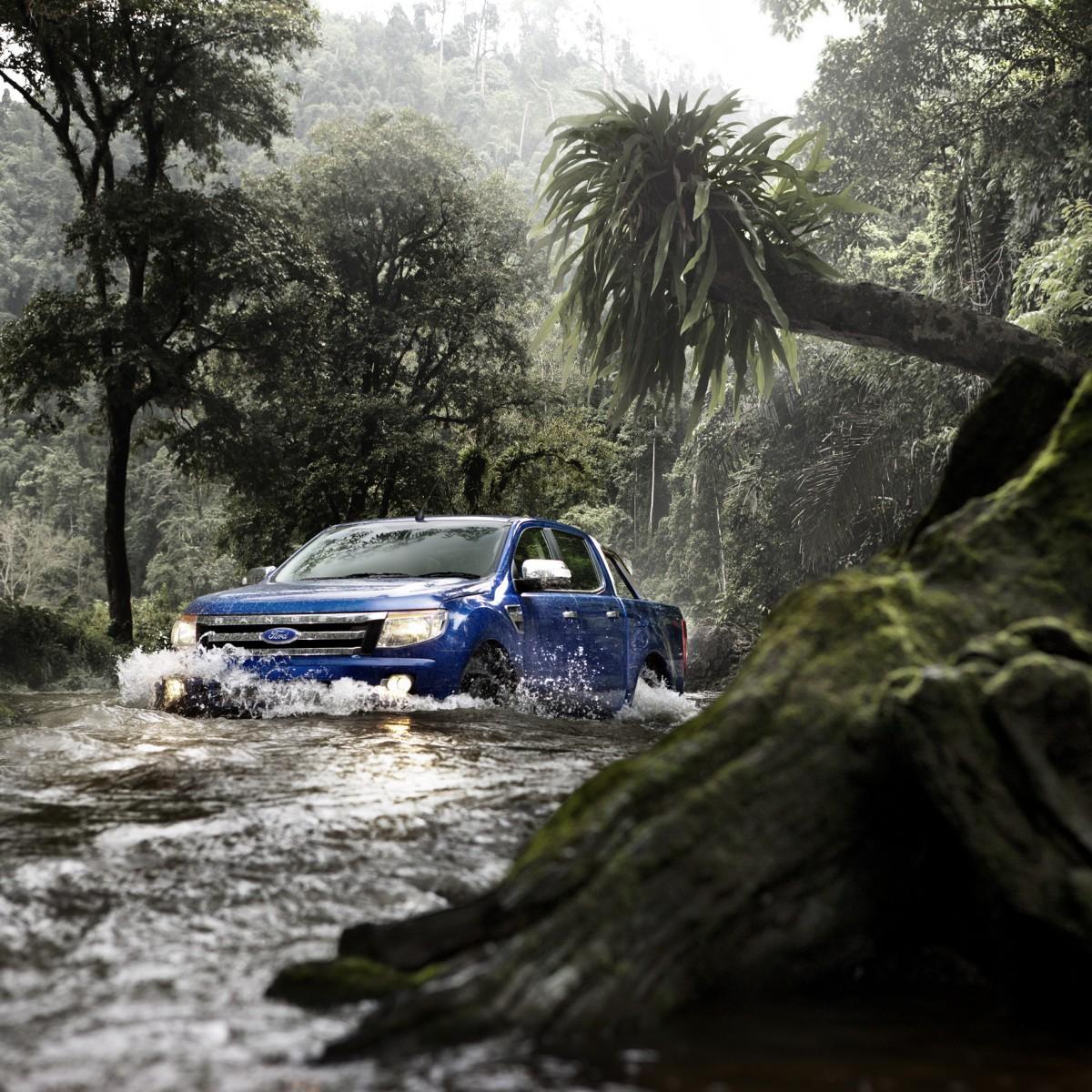 Kia Rio 2019 Azul Electrico: Ford Ranger 2013 Para México Azul En Río