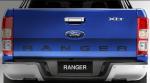Ford Ranger 2013 para México Azul trasera