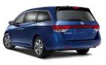 Honda Odyssey 2014 parte trasera