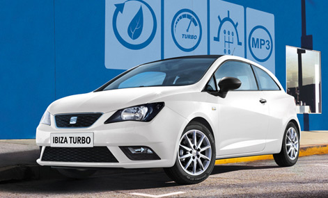Ibiza Coupé Turbo TSI México