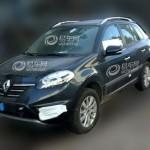 Renault Koleos con restyling en fotos espía