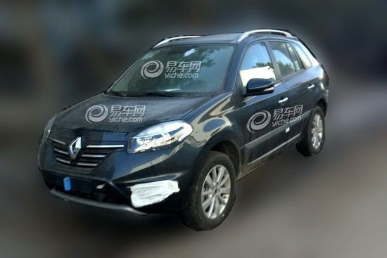 Renault Koleos 2014 restyling