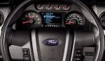 Ford Raptor SVT 2013 para México interior volante con controles tablero