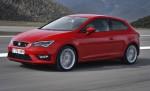 SEAT León Coupé 2014 color Rojo