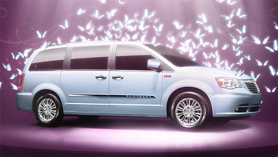 Chrysler Town & Country Edición Tanya Moss 2013