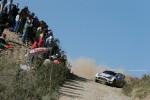 Volkswagen Polo R WRC conducido por Sébastien Ogier en el Rally de Portugal