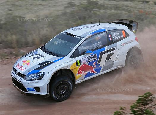Volkswagen en Rally de Argentina con el Polo R WRC
