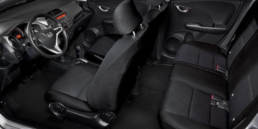 Honda Fit 2014 en México interior asientos