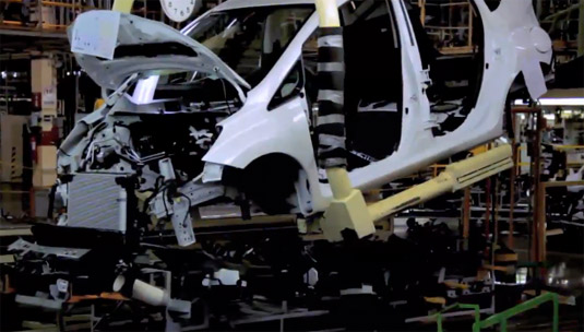 Nissan Note 2014 ensamble en planta en MéxicoNissan Note 2014 ensamble en planta en México