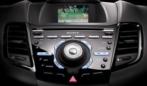 Ford Fiesta 2014 Interior