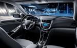 Dodge Attiude 2014 en México interiores consola