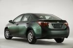 Nuevo Toyota Corolla 2014 trasera color verde
