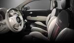 Fiat 500 by Gucci 2013 en México, asientos interiores