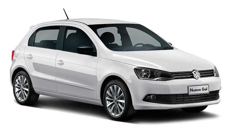 Volkswagen Gol 2015 en México color blanco