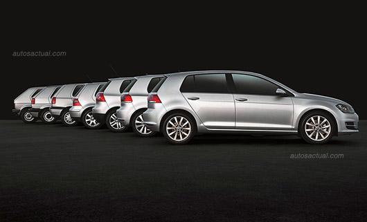 Volkswagen Golf todas sus generaciones hasta 2013