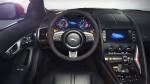 Jaguar F-TYPE 2014 en México interior volante logo Jaguar