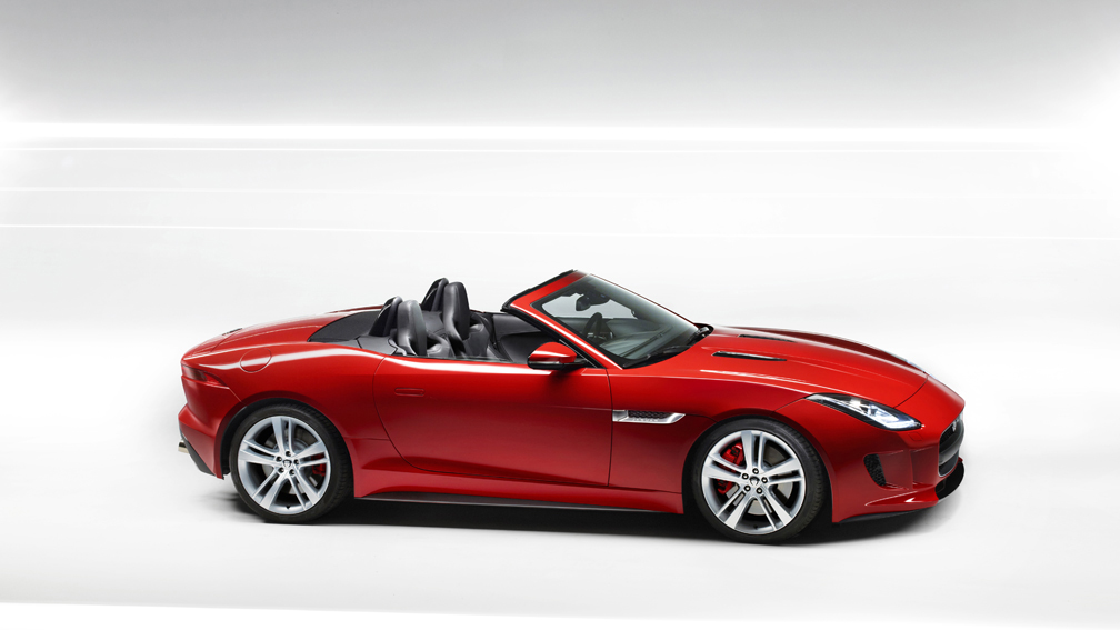 Jaguar F-TYPE 2014 en México color rojo