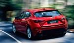 Nuevo Mazda 3 2014 parte trasera