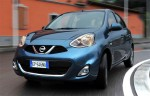 Nissan March Micra 2014 oficial de frente