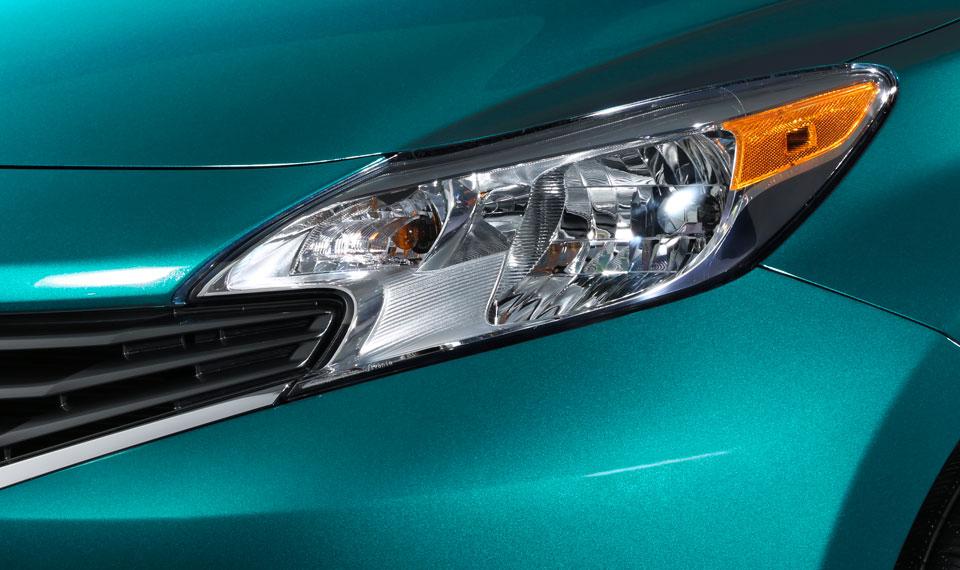 Nissan Note 2015 en venta en México detalle faro delantero
