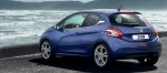 Peugeot 208 2014 en México trasera color azul brillante
