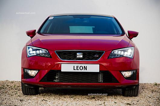 SEAT León 2014 para México color rojo