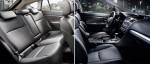 Subaru XV 2013 en México asientos interiores