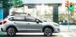 Subaru XV 2013 en México color plata de lado