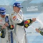Volkswagen Polo R WRC con Latvala ganan el rally de Grecia