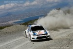 Volkswagen Polo R WRC en rally Grecia tierra