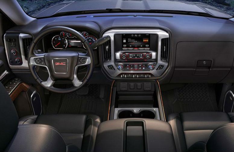GMC Sierra 2014 interior
