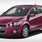 Chevrolet Sonic 2014 presentará nuevos colores