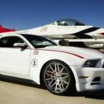Edición especial Mustang GT 2014 Air ForceThunderbirds