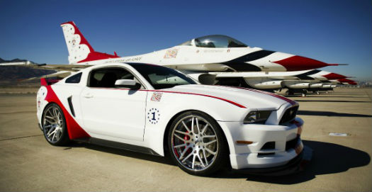Mustang Air Force Thunderbirds Edición 2014