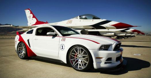 Mustang Air Force Thunderbirds Edición 2014